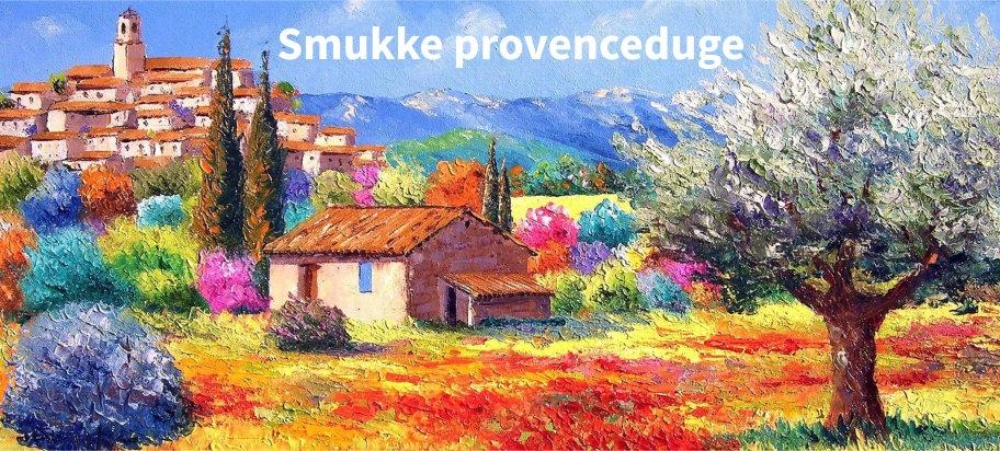 Provence bordduker