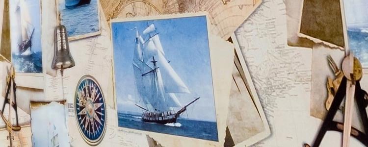 Se vårt store utvalg av voksduker med maritime motiver, blikkstille sjø, havbunn, holdbare skip som er perfekte til båten – leveres på en rull uten brettekanter.