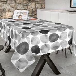 Arapoff Piedra - Stonefree Retro, akryldug i hvid/grå/antrasit