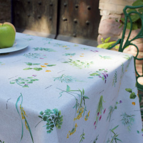 Renoir - Akryldug med vild have