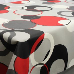 Bench Beige-Blue, akryldug med flot grafisk mønster