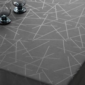 Compliments Damaskdug Sticks, grå - 160 x 270 cm