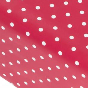 Dot Rød Magenta, voksdug med prikker