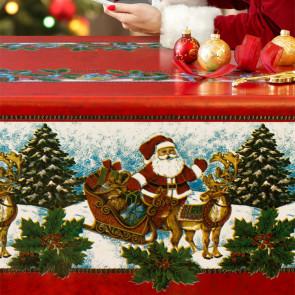 Julevoksdug - Rudolf og Julemanden på farten