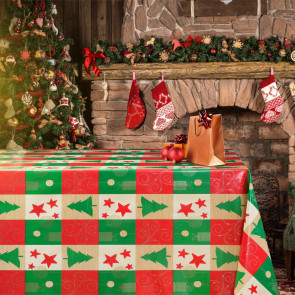 Julevoksdug - Juletræer i tern