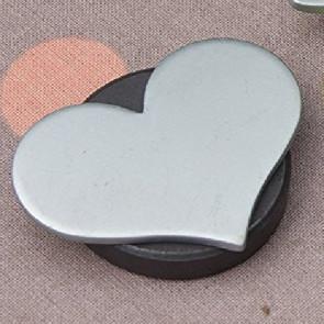 Magnetiske dugvægte, Sølv hjerte - sæt med 4 stk