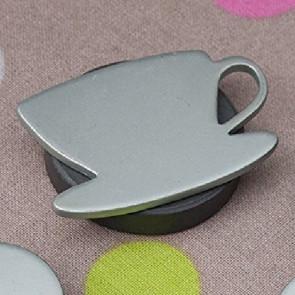 Magnetiske dugvægte Sølv kop - sæt med 4 stk