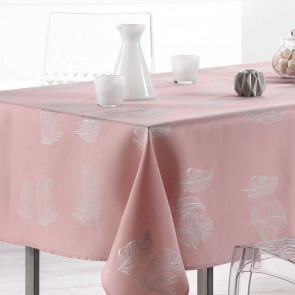 Plumia Candy Pink, dug med anti-plet, 150 x 240 cm