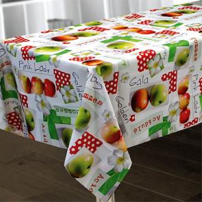 Pommes, dug 150 x 300 cm med æbler