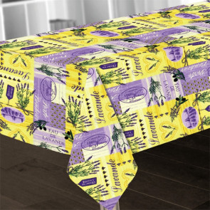 Provence Lavande, dug 150 x 240 med lavendler
