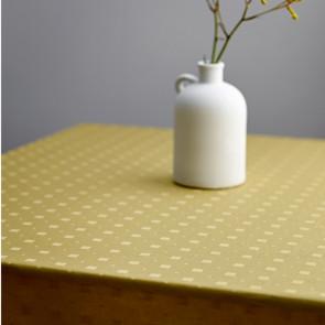 Södahl Squares Golden, damask vevd akrylduk med antiskli