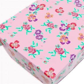 Dolce Vita Pink, voksdug med pixeleret mønster