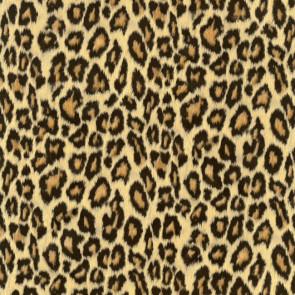 Voksdug med leopard skind, 140 cm bred
