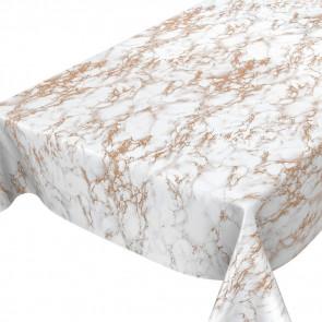 Voksdug med marmoreffekt i grå