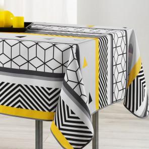 Yellow Mix, dug med anti-plet, 150 x 240 cm